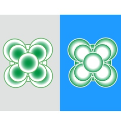 Logo-flower vector