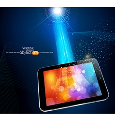 Modern tablet vector