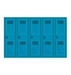 School locker design vector