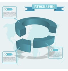 Share infographics vector