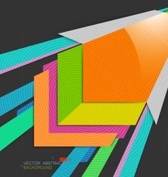 Square shape colors vector