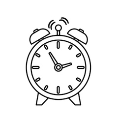 Time clock symbol vector
