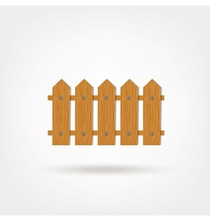 Wooden Boards Fence vector