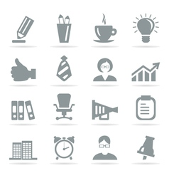 Office icons8 vector image vector image