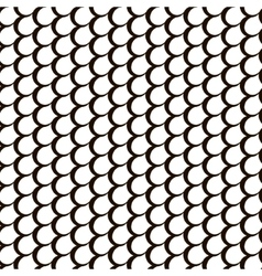 Fish skin repetition texture Modern scale stylish vector image