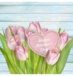 Mothers day card EPS 10 vector image