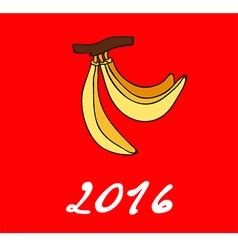 2016 Happy New Year vector image vector image