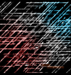 Abstract geometry colors lines vector