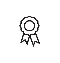 award badge icon graphic design template vector image