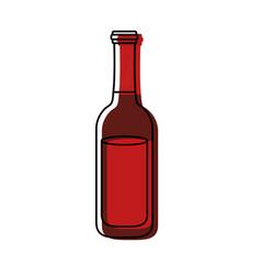 beer bottle ilustratio vector image
