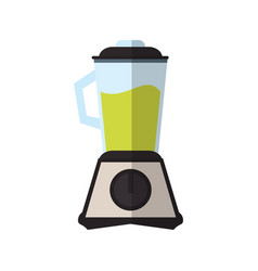 blender with juice icon vector image