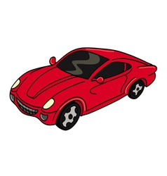 car sports vector image