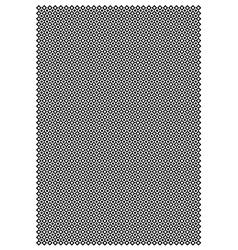 Diamond and circle block pattern vector image