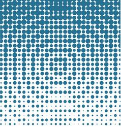 halftone blue background vector image