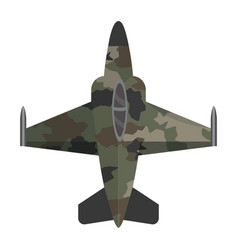 Military jet design vector