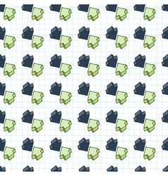 seamless pattern of arrows surround-like vector image