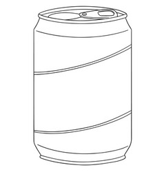Set of can vector