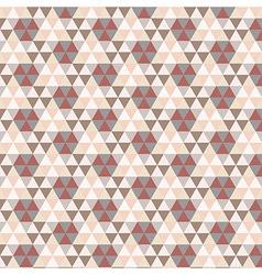 Triangular Vintage Pattern vector image