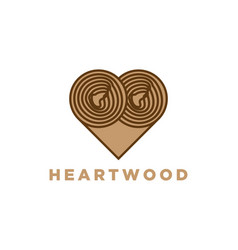 Wood slices timber logo designs inspiration vector