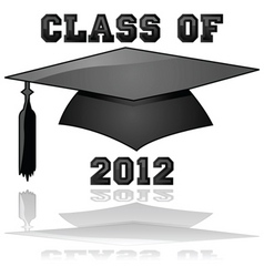 class of 2012 vector image vector image