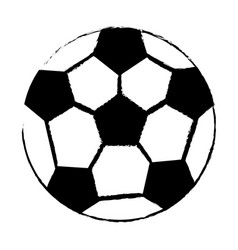 soccer sport ball image vector image vector image