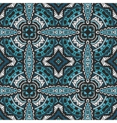 abstract geometric tiled seamless pattern vector image