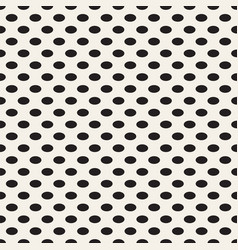 black dots on white background vector image