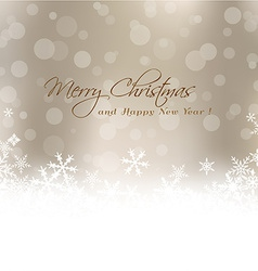 Christmas card with blur background vector