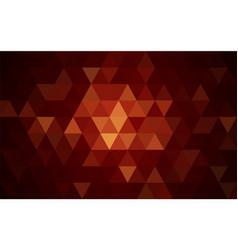 mosaic orange background vector image