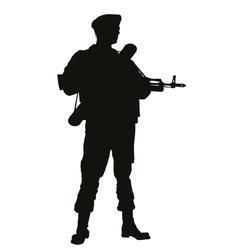Airborne Warriors theme vector image