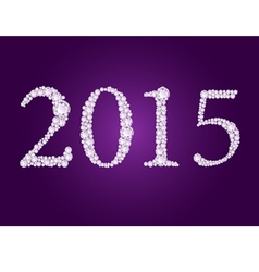 Diamond 2015 purple vector
