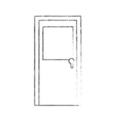 Door icon image vector