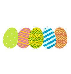 Eggs in row vector