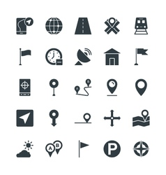 Map and Navigation Cool Icons 1 vector