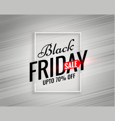 Modern black friday sale template vector