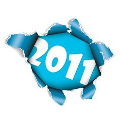 New years card 2011 vector