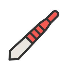Scalpel handle vector