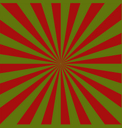sunburst christmas pattern radial stripes vector image
