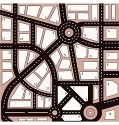 Urban area vector image
