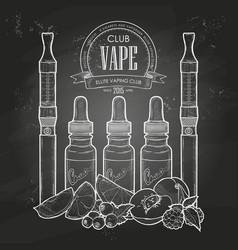 Vaporizer cigarette vector