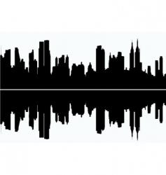 modern cityscape vector image vector image