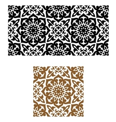 Arabic seamless ornament in retro style vector image