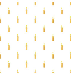 Candle pattern vector