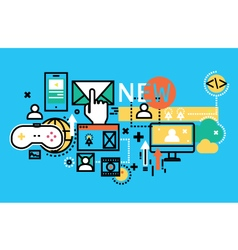 Concept for web banners and printed materials vector