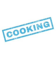 Cooking rubber stamp vector