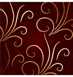 Cute background with decorative elements vector image