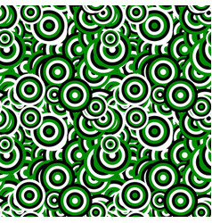 Seamless abstract concentric circle pattern vector