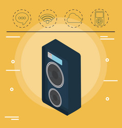 technology devices design vector image