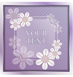 the violet background vector image
