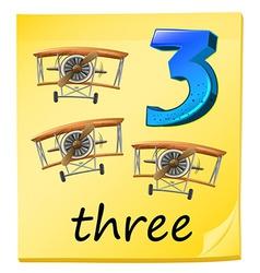 Three planes vector